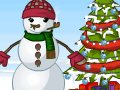 Lovely Snowman Dress Up