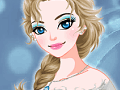 Queen Elsa's Night Out Makeover