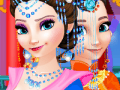Frozen Sisters in Chinese Costume
