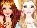 Ice Princess VS Fire Princess